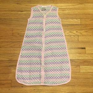 Aden + Anais pink sleepsack - Small 0-6 months
